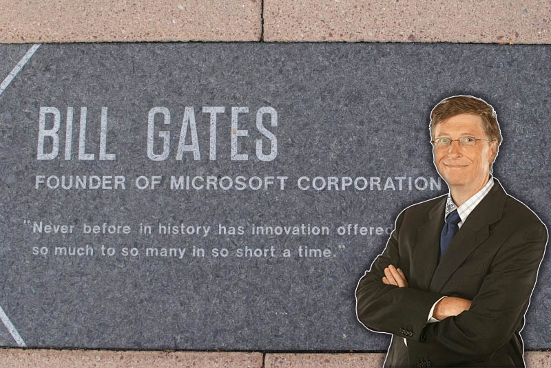 Bill Gates emprendedores exitosos